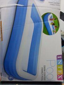 Big inflatable swimming pool
