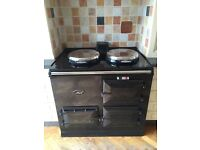 Aga oven, gas fired