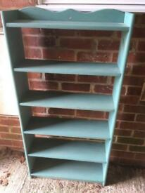 Solid bookcase, great painting project