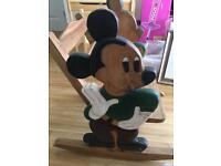 Mickey Mouse rocking chair