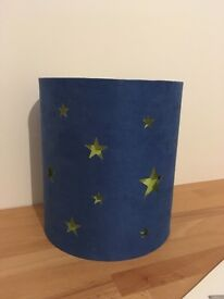 FREE boys star ceiling lightshade