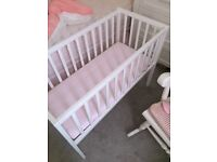 Crib and Mattress Unused