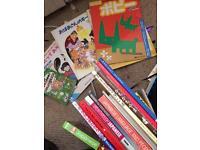 Various Japanese language books