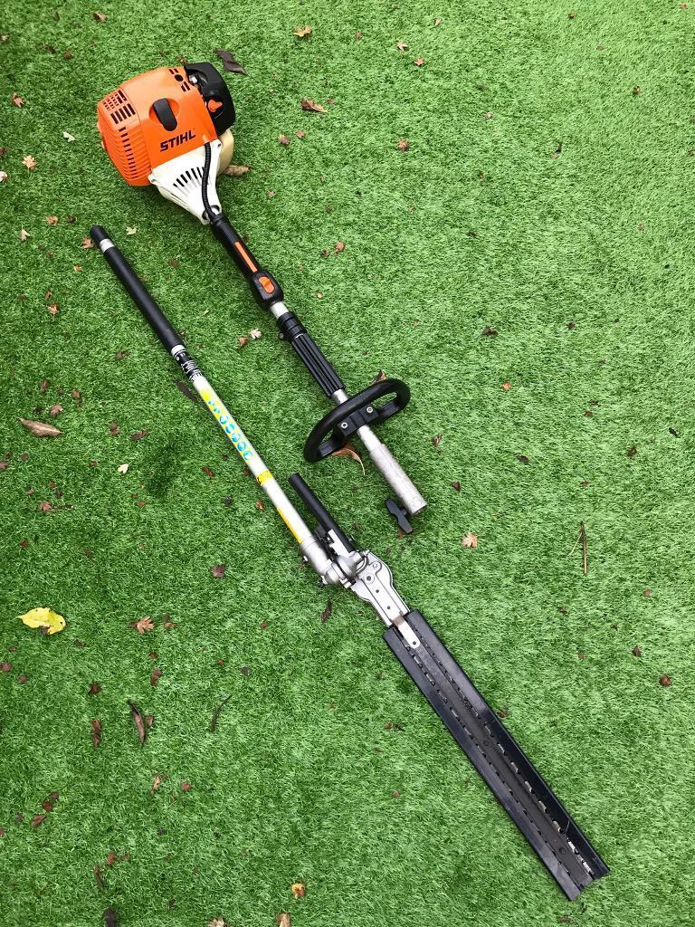 2012 STIHL KM90R KOMBI POWER UNIT WITH TITAN HEDGE TRIMMER ATTACHMENT | in  Beccles, Suffolk | Gumtree