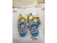 Men's size 7 Homer Simpson WOHOO slippers