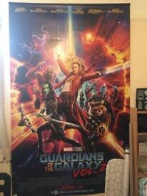 GUARDIANS OF THE GALAXY ODEON POSTER
