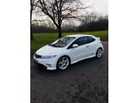 Honda Civic type R, championship white limited edition