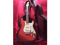 Fender FSR Classic 60s Stratocaster in Fiesta Red + Deluxe Hard Case