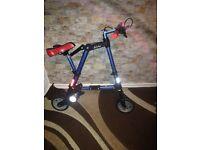 Mini fold up bike for kids and adults
