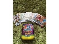 Match attax extra tin with cards inc limited edition