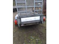 Indespension 8x4 plant trailer with ramp.