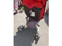 Petite star zia pushchair buggy