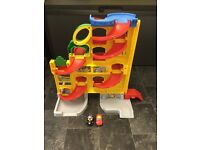 Used Fisher-Price Little People Wheelies Stand and Play Rampway Playset *Excellent Condition*