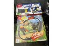 Fortnite switch one game as new no code £325 or £275 on own