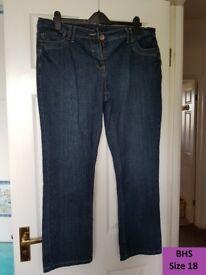 Women's jeans BHS - size 18