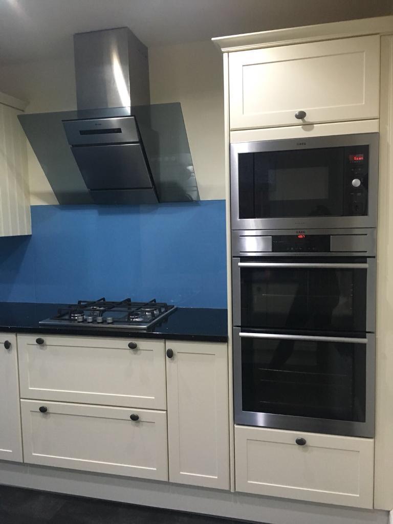 AEG Kitchen for sale, AEG appliances, black quartz work top and ...