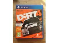 Dirt 4 ps4 game