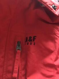 Brand new Abercrombie and Fitch men's jacket xl