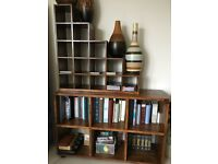 John Lewis Stowaway Sheesham wood bookcases 8 pieces - £1490