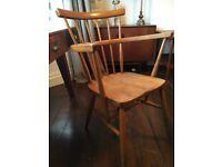 Vintage High Back Spindle Chair