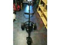 SOLD Motocaddy S3 electric trolley with 36 hole lithium battery