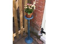 Painted Plant or Candle Stand