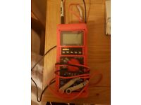 Metrix MX 58HD Digital Multimeter as new