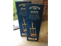2 Winsor and Newton Eden table easels
