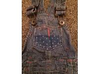 Next shorts dungarees as new age 12-18months