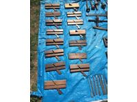 Antique Woodworking and Carpentry tools
