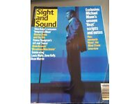 Complete Collections of BFI Issues Sight And Sound Magazines & Index 45 + 1995 onwards *Collectors*