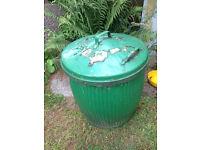 Garden storage bin or equestrian feed bin allotment greenhouse shed