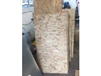 18mm thick osb board wood offcuts