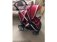 Oyster max double Pram buggy stroller