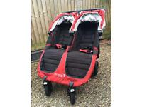 Baby jogger city mini GT double pushcair