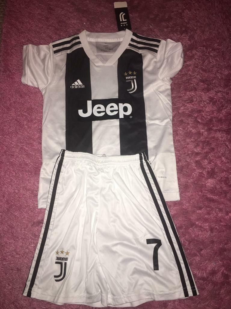 the latest 7c852 3afdc Adidas Ronaldo Juventus kit size 24 age 7/8 -8/9 | in Astley, Manchester |  Gumtree