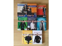 House DVDs series 1-8