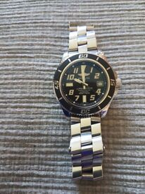 Mens Breitling Superocean 42 - With box and papers.