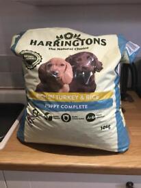 Harrington's puppy food