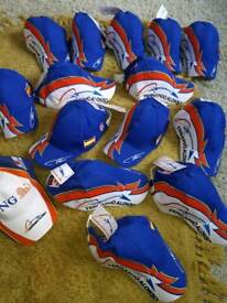 Joblot of New kids Fernando Alonso f1 baseball caps