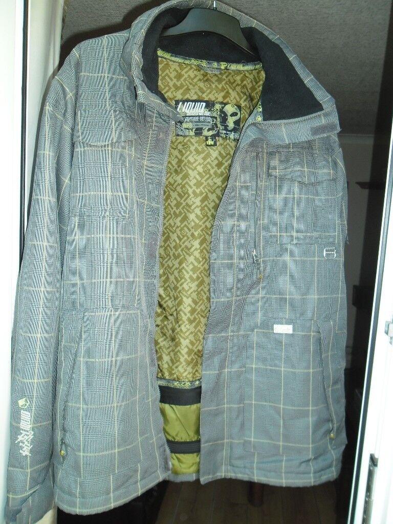 Genuine 'LIQUID' BOARDWEAR snow coat - size L