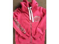 Superdry zip up hoodie. Size L.