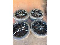 """Brand new Ford Fiesta alloys with continental Tyres. 17"""" fiesta alloys"""