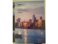 IMC Book Volume 2 - OFFICIAL TRAINING MANUAL - Last Edition 13 - **BRAND NEW**