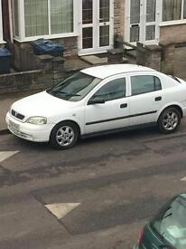 Vauxhall ASTRA, 1.7 diesel 2003 white colour, great car and very economical.