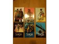 Saga Comics book