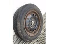 Kleber Viaxer 165/65R13 tyre on wheel | 2mm tread | Collect from IP1 2QE | Call Ivan 07580811118