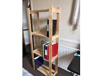 IKEA bookshelf ready built! Excellent condition!