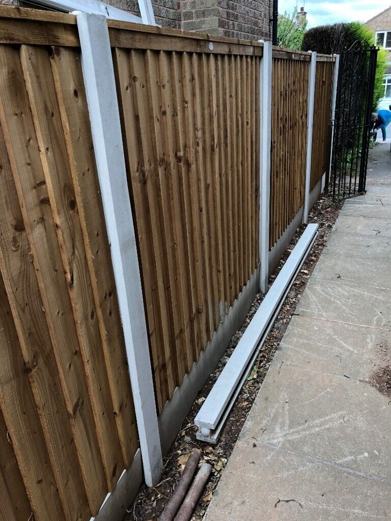 10 Ft foot slotted concrete fence post  Brand New | in Beeston,  Nottinghamshire | Gumtree