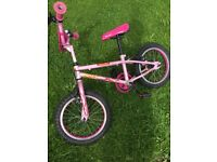 Girls first bike & gents vintage bicycle & wicker basket
